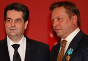 Giving the Order of Friendship to Mr. Evgeny Gennadyevich Bobylev